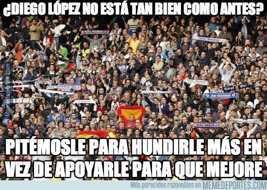 290856 - Pitos para Diego López en el Bernabeu