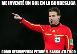 Enlace a El árbitro del gol fantasma en la Bundesliga pitará el Barça-Atlético