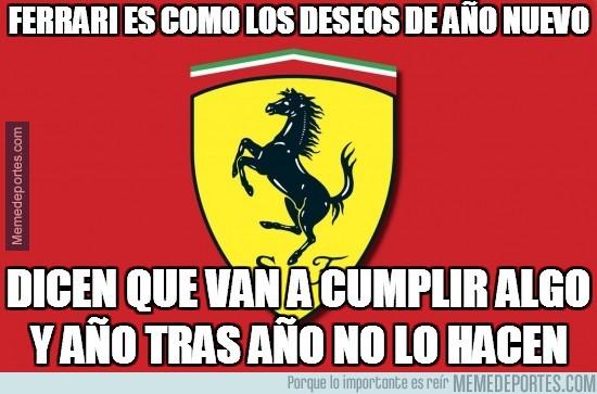 290939 - Ferrari es como los deseos de año nuevo