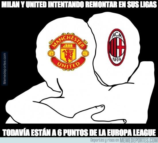 291058 - Milan y United intentando remontar en sus ligas