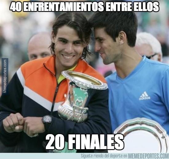 291145 - 40 enfrentamientos entre Nadal y Djokovic