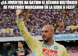 Enlace a ¿La Juventus ha batido el récord histórico de partidos marcando en la Serie A (43)?