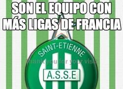 Enlace a AS Saint-Étienne, el equipo con más Ligue1