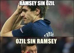 Enlace a La única opción que tiene el Arsenal es Ramsey y Özil juntos