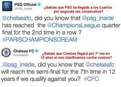 Enlace a ¡Vaya pique entre Chelsea y PSG!