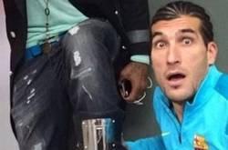 Enlace a Pinto al enterarse de que mañana se enfrenta a Diego Costa