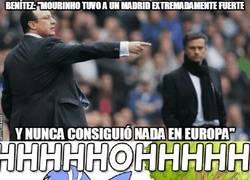 Enlace a ¡Zas! Otra para Mourinho, esta vez de Benitez