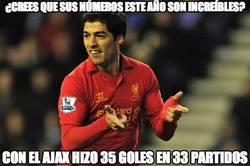 Enlace a ¿Crees que los números de Suárez este año son increíbles?