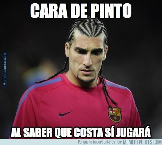 291867 - Cara de Pinto al saber que Diego Costa jugará