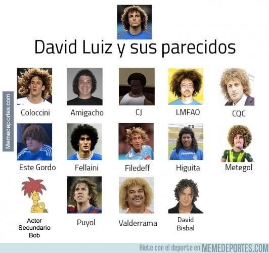 292010 - David Luiz y sus mejores parecidos