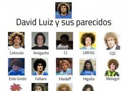 Enlace a David Luiz y sus mejores parecidos