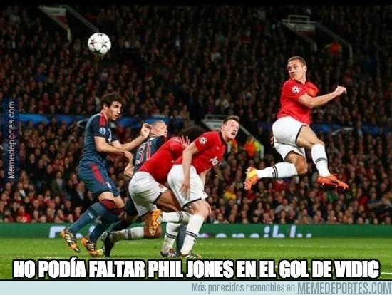 292017 - No podía faltar Phil Jones en el gol de Vidic