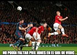 Enlace a No podía faltar Phil Jones en el gol de Vidic