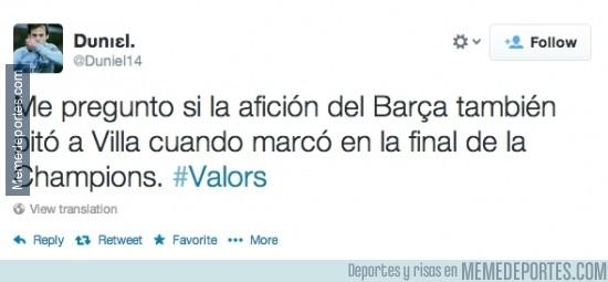 292138 - ¿Alguien entiende la pitada del Camp Nou a Villa?