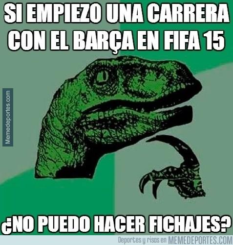 292351 - ¿Qué pasará con el Barça en el FIFA 15?