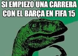 Enlace a ¿Qué pasará con el Barça en el FIFA 15?