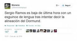 Enlace a ¡Atención! Otro español de baja, es Sergio Ramos...