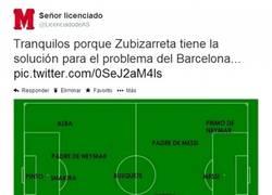 Enlace a Y aquí el once del Barcelona de la próxima temporada
