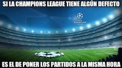 Enlace a Si la Champions League tiene algún defecto, es éste