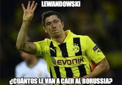 Enlace a Lewandowski, ¿cuántos le van a caer al Borussia?