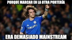 Enlace a David Luiz se marca en propia puerta
