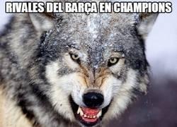 Enlace a La suerte del Real Madrid en Champions