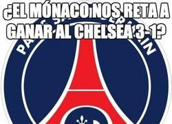 Enlace a ¿El mónaco nos reta a ganar al Chelsea 3-1?