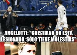 Enlace a GIF: Aficionados del Real Madrid al enterarse que CR7 no sufre lesión