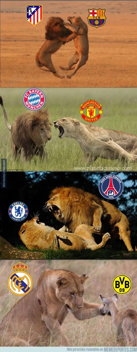 292872 - El resumen de los cuartos de la Champions League hasta ahora