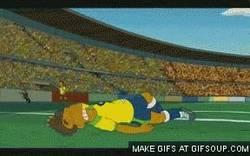 Enlace a GIF: Hasta en Los Simpson tienen a Neymar bien calado