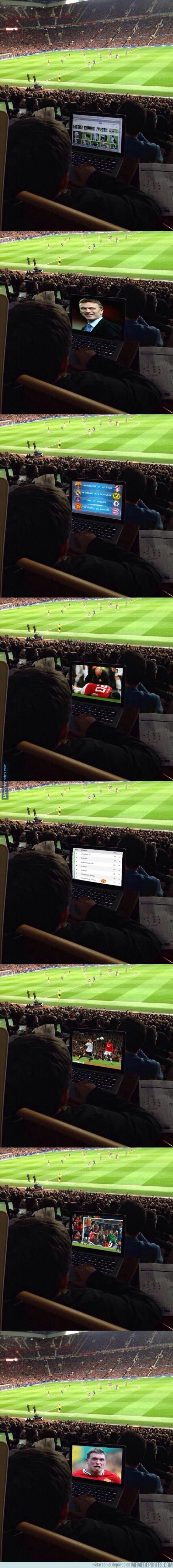 292894 - Ya tardaban en llegar los chops del chico en Old Trafford