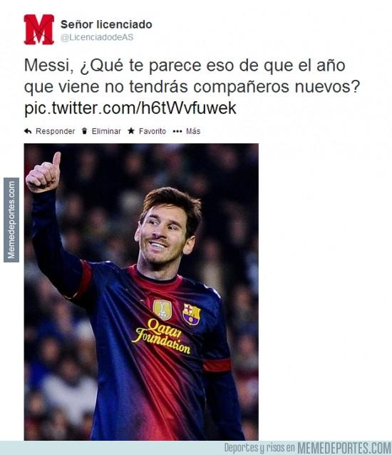 293014 - A Messi no le molesta en absoluto la sanción...