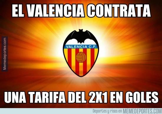 293145 - El Valencia ofrece un 2x1 en Liga y Europa League. Y en pocos minutos