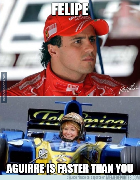 293221 - Felipe, Aguirre is faster than you