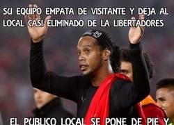 Enlace a Sólo lo puede conseguir Ronaldinho