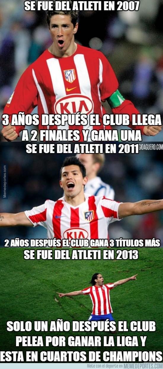 293294 - Atlético de Madrid, ese club al que le quitas a sus mejores hombres y lo hacen aún mejor