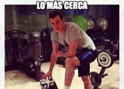 Enlace a Lo más cerca que estará Bale del Brazuca