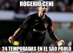 Enlace a Se retira un mito, Rogério Ceni