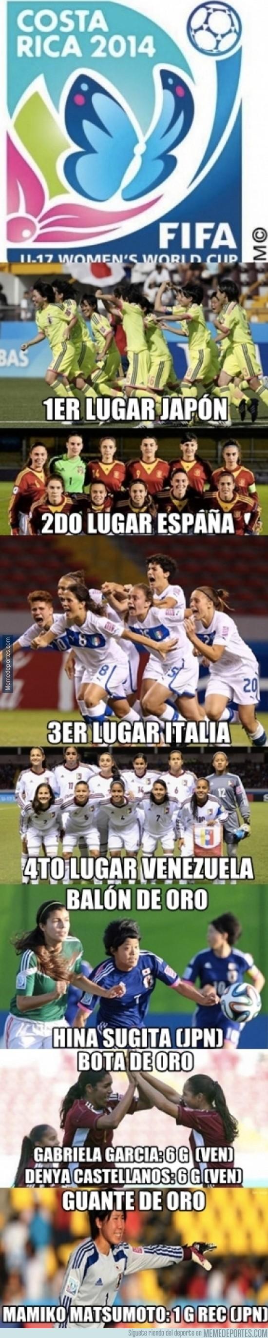 293559 - Resumen del Mundial Femenino Sub-17 Costa Rica 2014... ¡Enhorabuena, Japón!