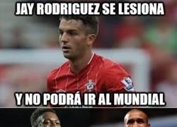Enlace a Welbeck y Defoe al saber que Jay Rodriguez no va al Mundial