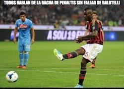 Enlace a Todos hablan de la racha de penaltis sin fallar de Balotelli