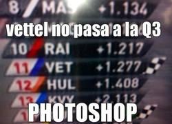 Enlace a Vettel no pasa a la Q3