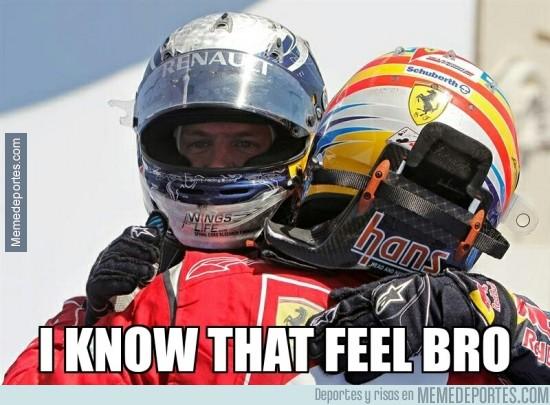 293750 - Vettel ya sabe lo que es no tener el coche más rápido