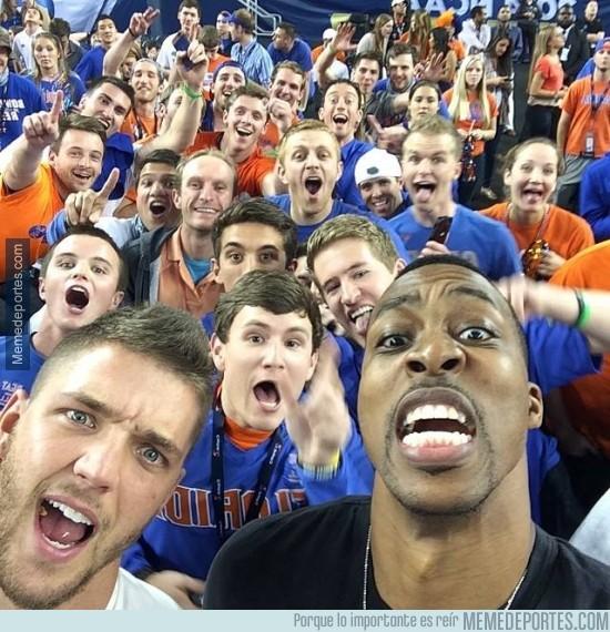 294208 - El mejor selfie de la NBA