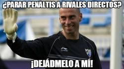 Enlace a Caballero, el para-penaltis