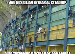 Enlace a ¿Se han vuelto locos en Argentina? Esto es lo que hacen para ver el partido