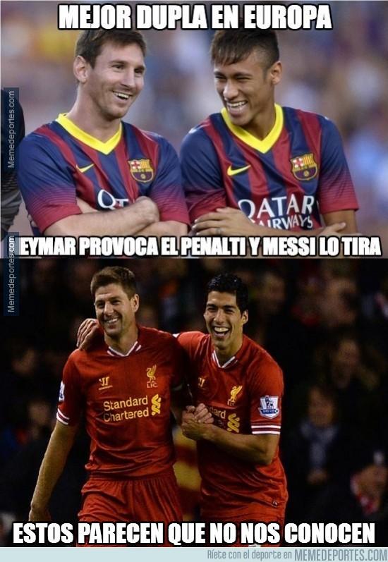 294537 - Parece ser que hay una dupla mejor que Messi y Neymar