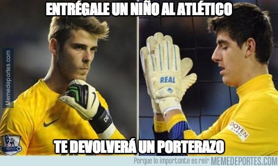 294699 - El Atlético de Madrid y su capacidad para crear porterazos