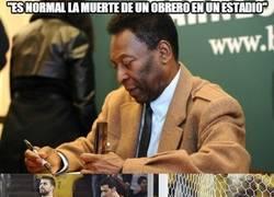 Enlace a Las declaraciones más patéticas de Pelé hasta día de hoy