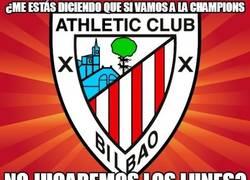 Enlace a Lo siento, Athletic